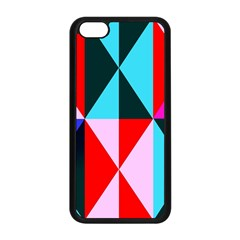 Geometric Pattern Design Angles Apple Iphone 5c Seamless Case (black)