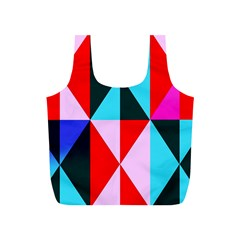 Geometric Pattern Design Angles Full Print Recycle Bags (s)