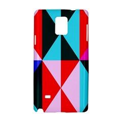 Geometric Pattern Design Angles Samsung Galaxy Note 4 Hardshell Case