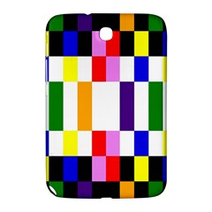 Rainbow Color Blocks Red Orange Samsung Galaxy Note 8 0 N5100 Hardshell Case  by Nexatart
