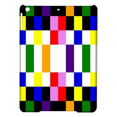 Rainbow Color Blocks Red Orange Ipad Air Hardshell Cases