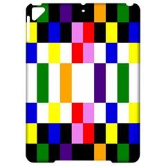 Rainbow Color Blocks Red Orange Apple Ipad Pro 9 7   Hardshell Case by Nexatart