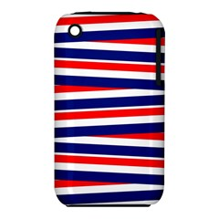 Red White Blue Patriotic Ribbons Iphone 3s/3gs