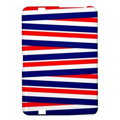 Red White Blue Patriotic Ribbons Kindle Fire Hd 8 9  by Nexatart