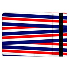 Red White Blue Patriotic Ribbons Ipad Air Flip