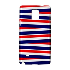 Red White Blue Patriotic Ribbons Samsung Galaxy Note 4 Hardshell Case