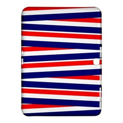 Red White Blue Patriotic Ribbons Samsung Galaxy Tab 4 (10 1 ) Hardshell Case