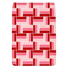 Pink Red Burgundy Pattern Stripes Flap Covers (s)