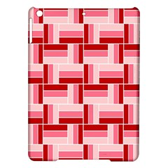 Pink Red Burgundy Pattern Stripes Ipad Air Hardshell Cases