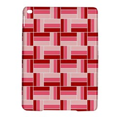 Pink Red Burgundy Pattern Stripes Ipad Air 2 Hardshell Cases