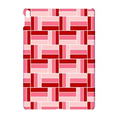 Pink Red Burgundy Pattern Stripes Apple Ipad Pro 10 5   Hardshell Case