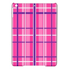 Gingham Hot Pink Navy White Ipad Air Hardshell Cases