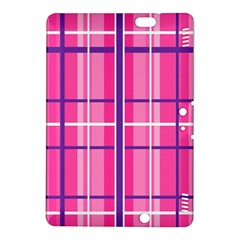 Gingham Hot Pink Navy White Kindle Fire Hdx 8 9  Hardshell Case