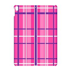 Gingham Hot Pink Navy White Apple Ipad Pro 10 5   Hardshell Case by Nexatart