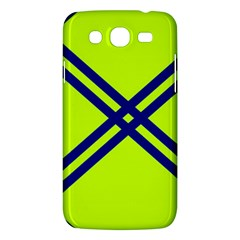 Stripes Angular Diagonal Lime Green Samsung Galaxy Mega 5 8 I9152 Hardshell Case