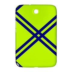 Stripes Angular Diagonal Lime Green Samsung Galaxy Note 8 0 N5100 Hardshell Case