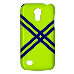 Stripes Angular Diagonal Lime Green Galaxy S4 Mini