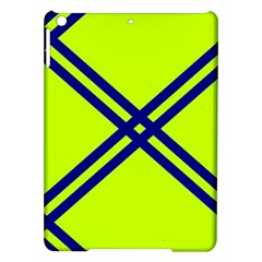Stripes Angular Diagonal Lime Green Ipad Air Hardshell Cases