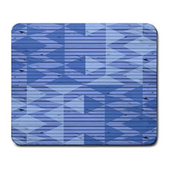 Texture Wood Slats Geometric Aztec Large Mousepads