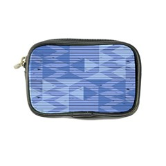 Texture Wood Slats Geometric Aztec Coin Purse