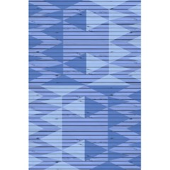 Texture Wood Slats Geometric Aztec 5 5  X 8 5  Notebooks