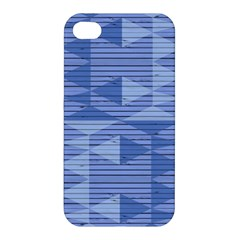 Texture Wood Slats Geometric Aztec Apple Iphone 4/4s Hardshell Case