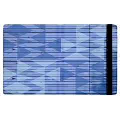 Texture Wood Slats Geometric Aztec Apple Ipad 3/4 Flip Case