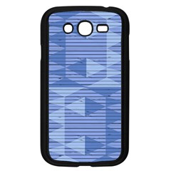 Texture Wood Slats Geometric Aztec Samsung Galaxy Grand Duos I9082 Case (black)