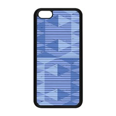 Texture Wood Slats Geometric Aztec Apple Iphone 5c Seamless Case (black) by Nexatart