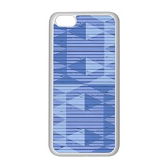 Texture Wood Slats Geometric Aztec Apple Iphone 5c Seamless Case (white) by Nexatart
