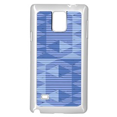 Texture Wood Slats Geometric Aztec Samsung Galaxy Note 4 Case (white)
