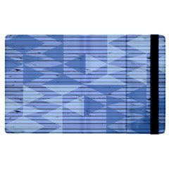 Texture Wood Slats Geometric Aztec Apple Ipad Pro 12 9   Flip Case by Nexatart