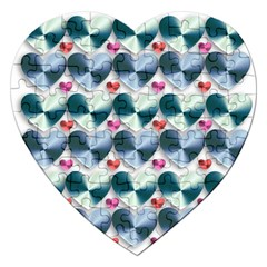Valentine Valentine S Day Hearts Jigsaw Puzzle (heart)