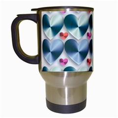 Valentine Valentine S Day Hearts Travel Mugs (white)