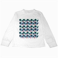 Valentine Valentine S Day Hearts Kids Long Sleeve T Shirts