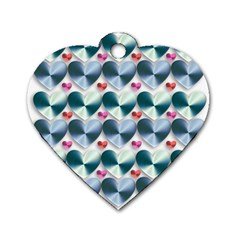 Valentine Valentine S Day Hearts Dog Tag Heart (two Sides)