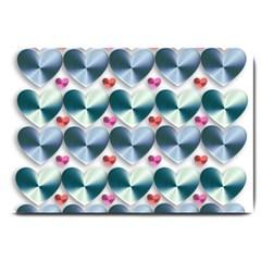 Valentine Valentine S Day Hearts Large Doormat