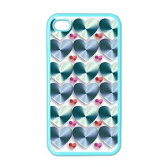 Valentine Valentine S Day Hearts Apple Iphone 4 Case (color)