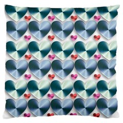 Valentine Valentine S Day Hearts Large Cushion Case (two Sides)