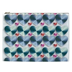 Valentine Valentine S Day Hearts Cosmetic Bag (xxl)