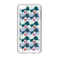 Valentine Valentine S Day Hearts Apple Ipod Touch 5 Case (white)
