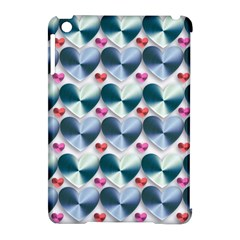 Valentine Valentine S Day Hearts Apple Ipad Mini Hardshell Case (compatible With Smart Cover)