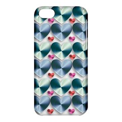 Valentine Valentine S Day Hearts Apple Iphone 5c Hardshell Case by Nexatart