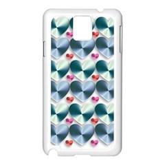 Valentine Valentine S Day Hearts Samsung Galaxy Note 3 N9005 Case (white)