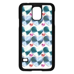 Valentine Valentine S Day Hearts Samsung Galaxy S5 Case (black)