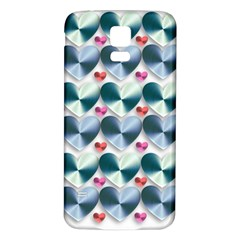Valentine Valentine S Day Hearts Samsung Galaxy S5 Back Case (white)