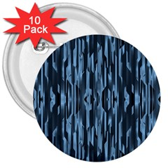 Texture Surface Background Metallic 3  Buttons (10 Pack)  by Nexatart