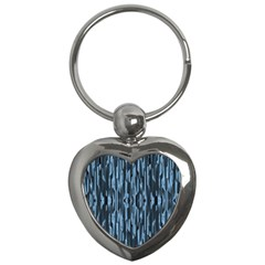 Texture Surface Background Metallic Key Chains (heart)