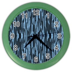 Texture Surface Background Metallic Color Wall Clocks