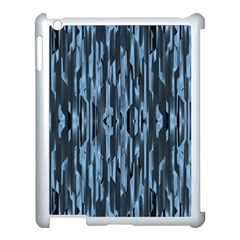 Texture Surface Background Metallic Apple Ipad 3/4 Case (white)